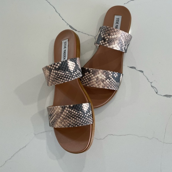 Steve Madden Shoes - Steve Madden Snakeskin Sandals